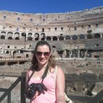 Diabetes and travel - Me during my trip in Rome