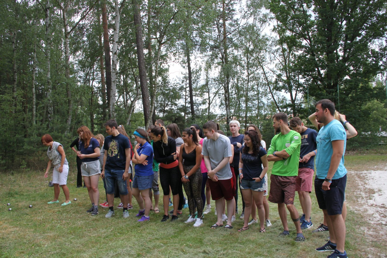 Second day at IDF Europe Youth Leadership Camp (YLC)