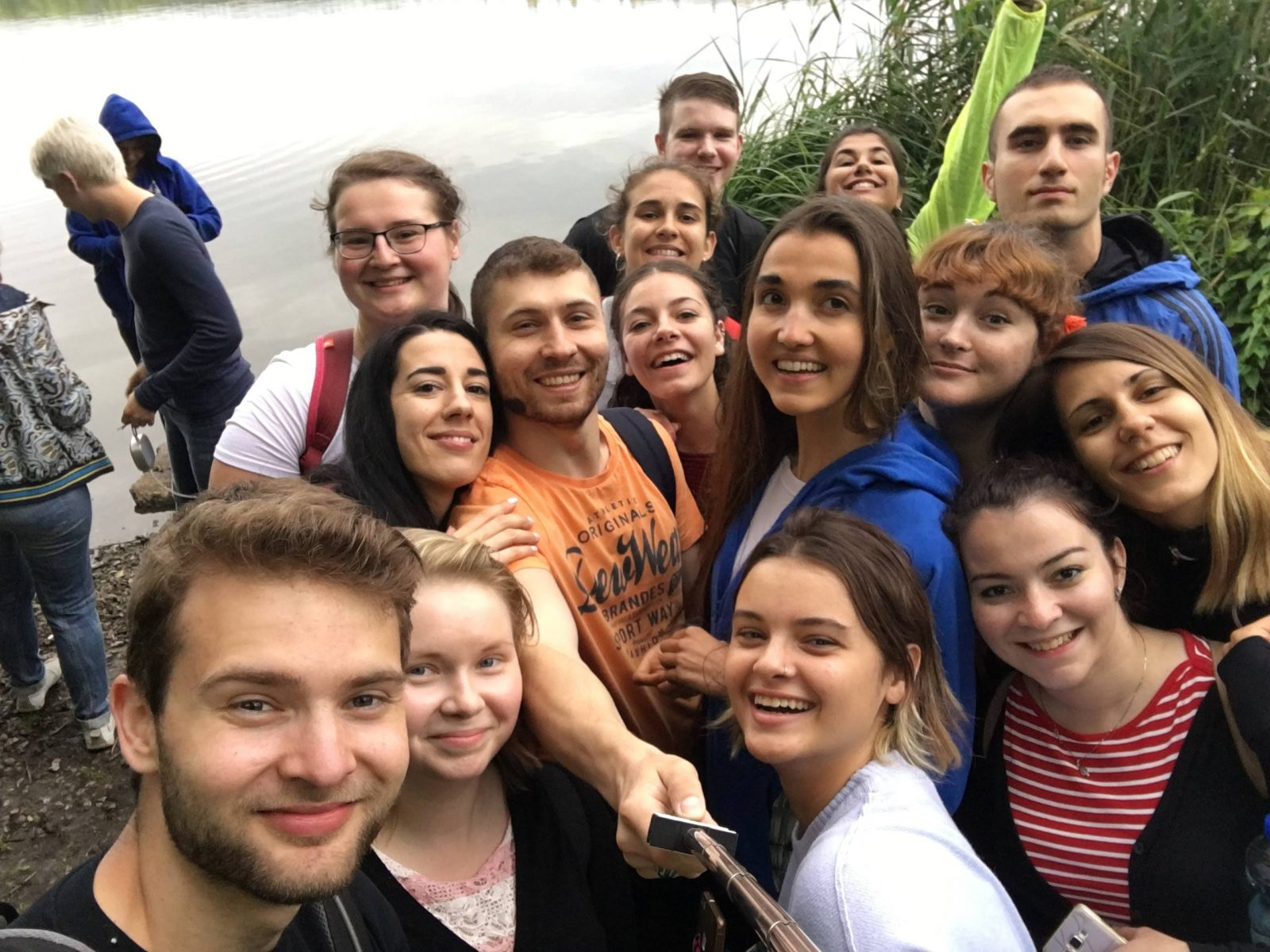 Fourth day at IDF Europe Youth Leadership Camp (YLC)
